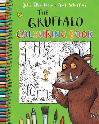 Book cover for The Gruffalo Colouring Book